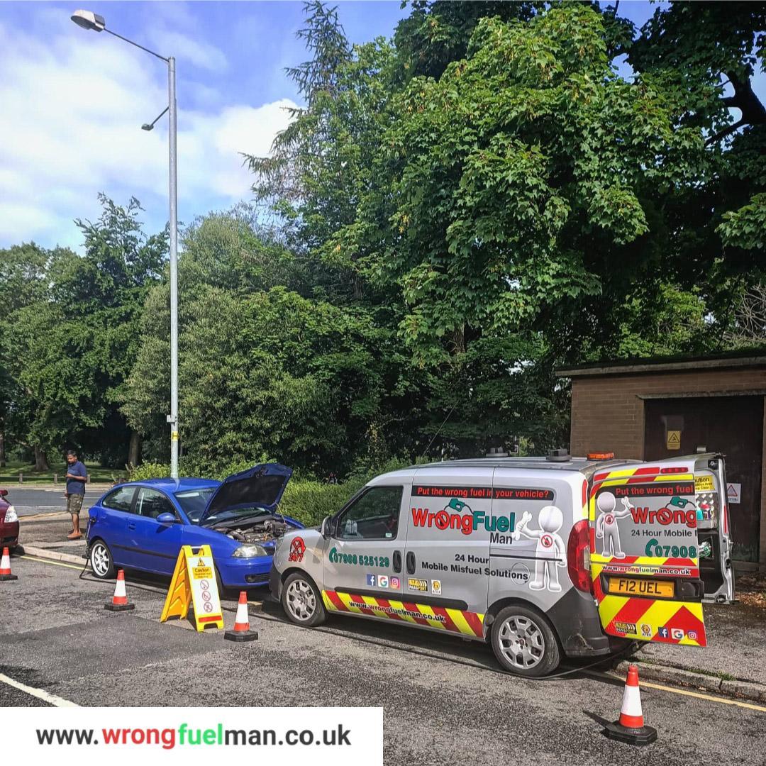 Wrong Fuel Breakdown Assistance Service Lancashire